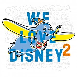 CD We Love Disney 2