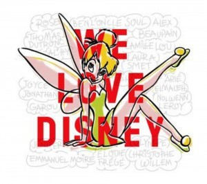 CD We Love Disney